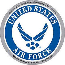 Bumper Sticker - USAF