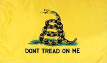 Flag - Don't Tread on Me (Yellow)