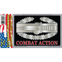 Bumper Sticker - Army, Combat Action