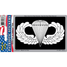 Bumper Sticker - US Army Para Wings