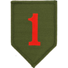 "Patch - 1st Inf Div (3-1/2"")"