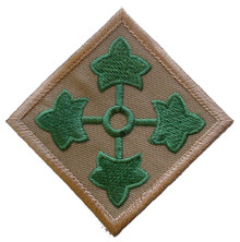 "Patch - 4th Inf Div (3"")"
