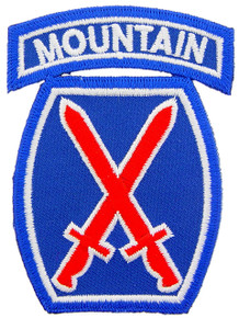 "Patch - 10th Mtn Div (3"")"