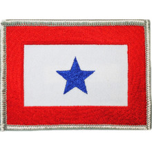 "Patch - Family Member in Service, Blue Star (3-1/2"")"