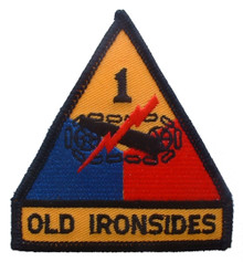 "Patch - 1st Arm Div (3-3/4"")"