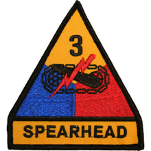 "Patch - 3rd Arm Div (3-3/4"")"
