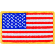 "Patch - US Flag (2"" x 3-1/4"")"