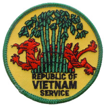 "Patch - Republic of Vietnam Service (3"")"