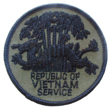 "Patch - Republic of Vietnam Service, Subdued (3"")"