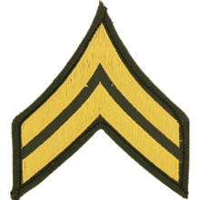 "Patch - Army, E4 Corporal (3"")"