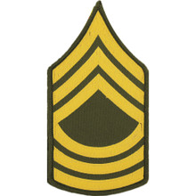 "Patch - Army, E8 Master Sgt (3"")"