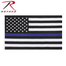 Flag - Thin Blue Line (3' x 5')