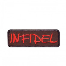 "Velcro Patch - Infidel (1.5"" x 4"")"