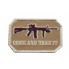 "Velcro Patch - Come and Take It (3.5"" x 2.25"")"