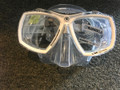 NEW IN THE BOX - AQUALUNG LOOK 2 MASK CLEAR/WHITE