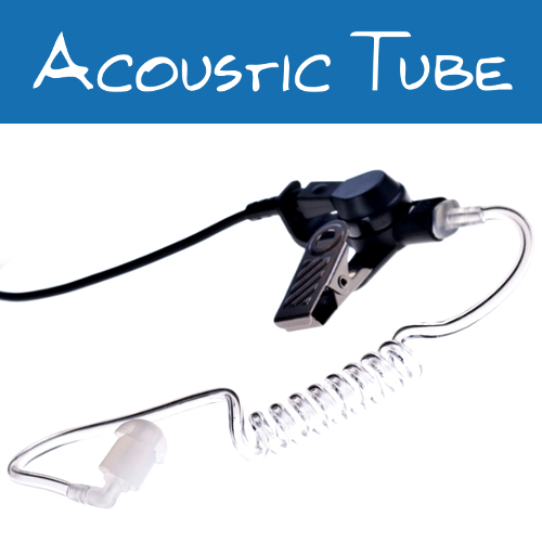 3.5mm Acoustic Tube Listen Only Earpieces