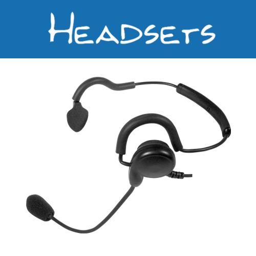 Motorola 2-Pin Radio Headsets
