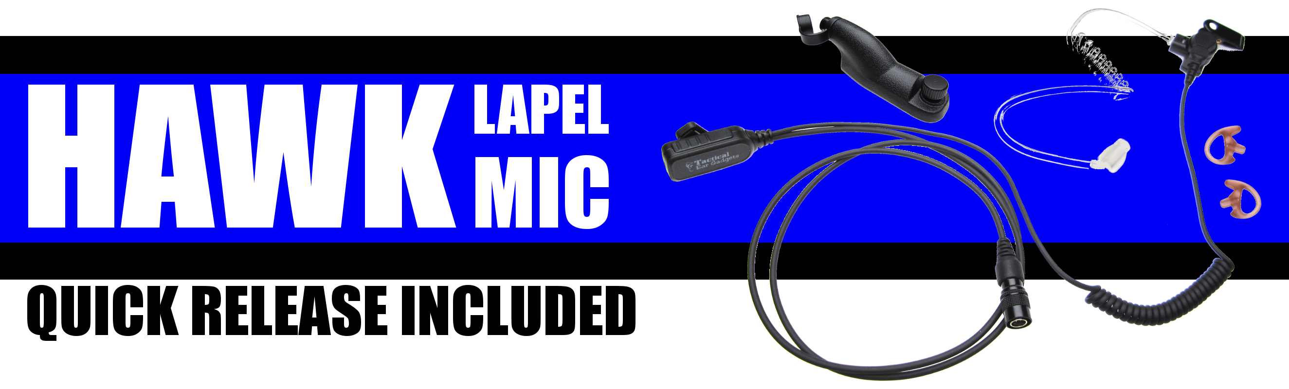 Hawk Lapel Mic Quick Release