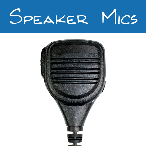 Motorola 2-Pin Radio Speaker Mics