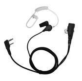 IMPACT 1-Wire Earpiece with Acoustic Tube for TEKK 2-Pin XU100 XU1000 Radios