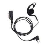IMPACT 1-Wire Earpad Earpiece for Motorola 2 Pin Radios CP200 CLS1410 DTR410