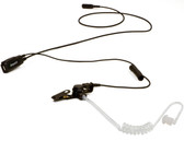 IMPACT 1-Wire Security Earpiece with Tube for Motorola 2-Pin CP200 BPR40 PR400 Radios
