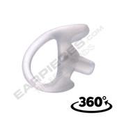 Clear Open Ear Insert Semi-Custom Earmold