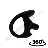 Black Open Ear Insert Semi-Custom Earmold