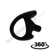 Black Open Ear Insert Semi-Custom Earmold