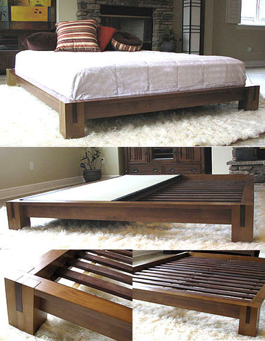 Tatami Platform Bed Honey Oak Tatamiroom Com