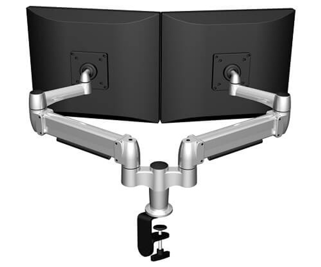 SpaceArm-Dual Monitor Arm with C-clamp