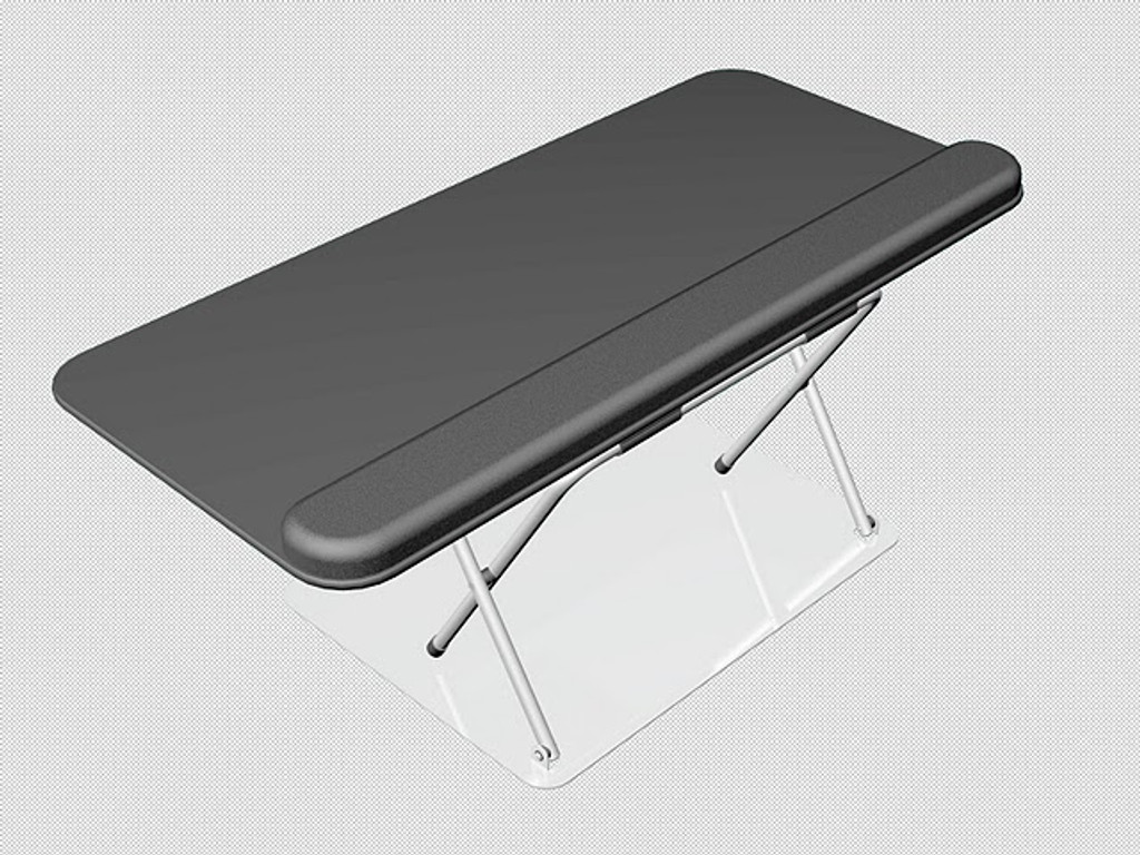 Scissor Lift Sit Stand Keyboard Tray