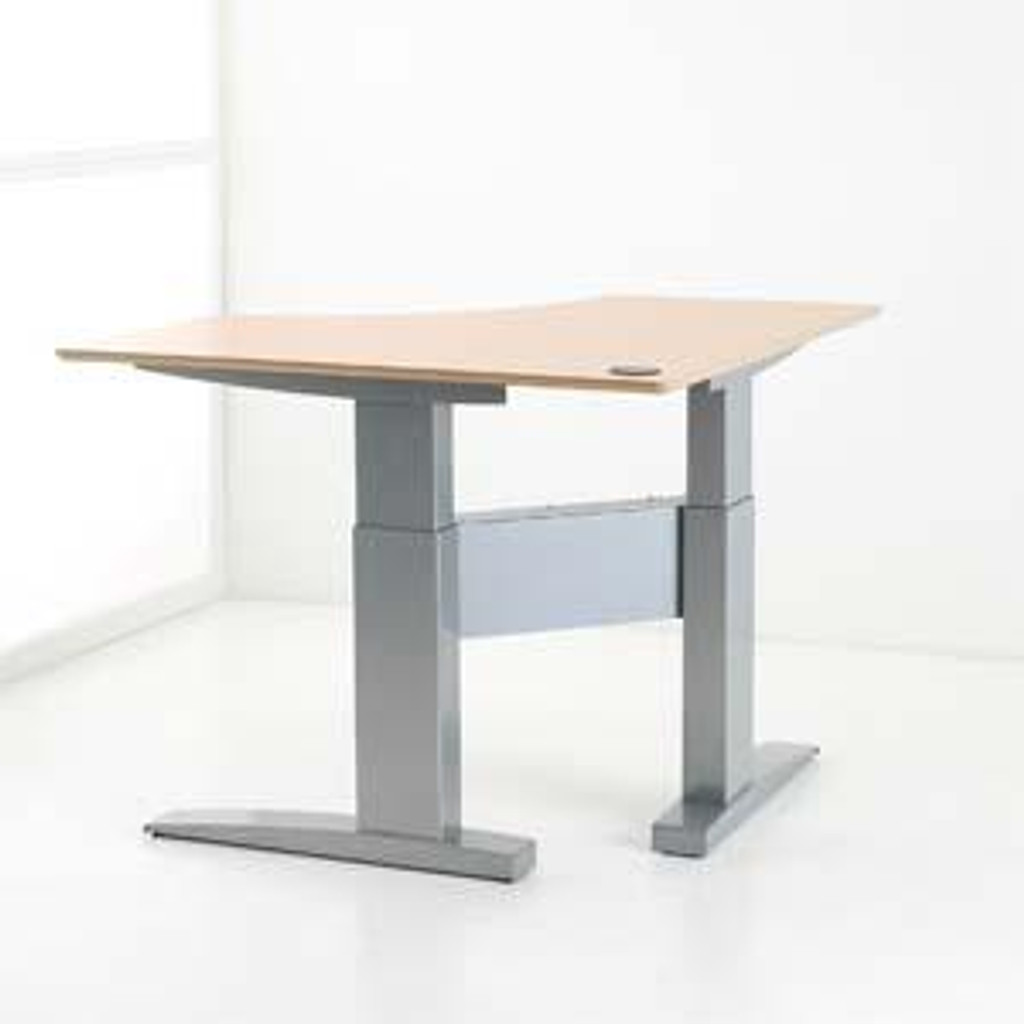 Electric Height Adjustable Corner Desk