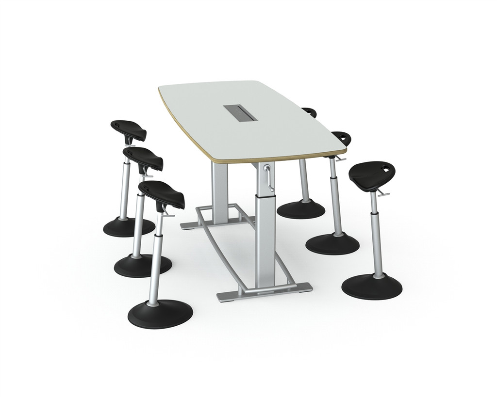 Confluence 6 Standing Height Conference Table (FCT-1000)