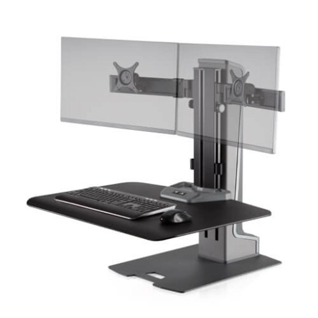 Winston-E Sit-Stand Workstation Dual Monitor Mount (WNSTE-2)