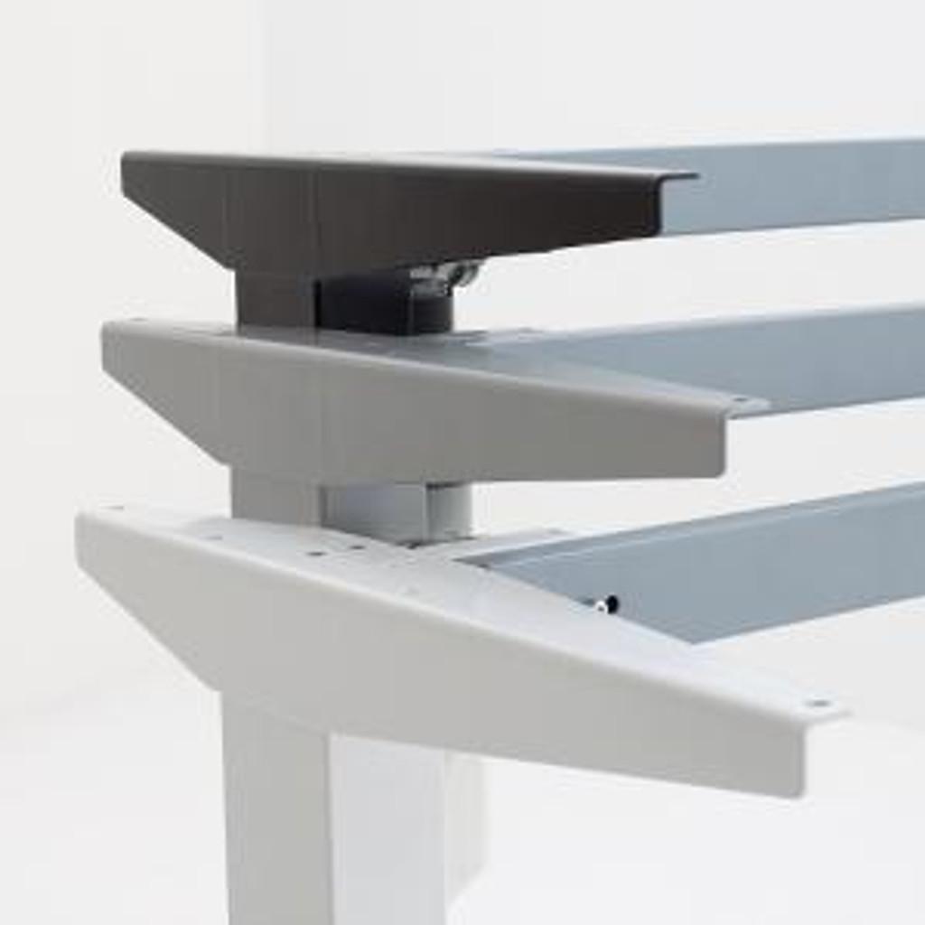 501-37 Electric Height Adjustable 2-Leg Desk