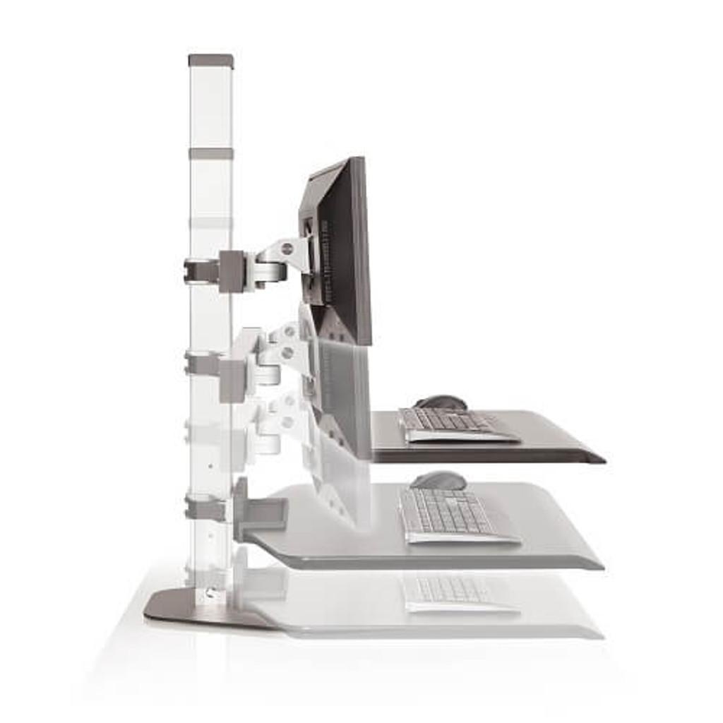 Winston  Height Adjustable Workstation easy height adjustment