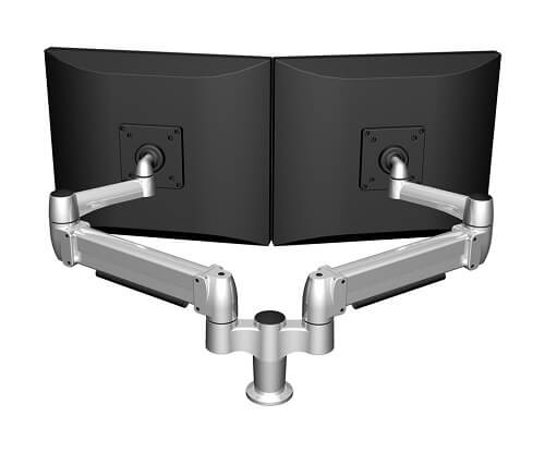 SpaceArm Dual Monitor Arm, Side by Side