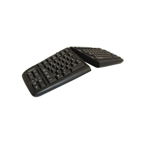 Goldtouch V2 USB Comfort Keyboard (black) + PS2 Connector (PC Only)