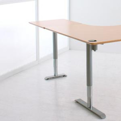 501-49 Electric Height Adjustable 3-Leg Desk