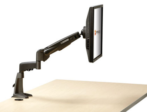 Populas Furniture Single Monitor Arm