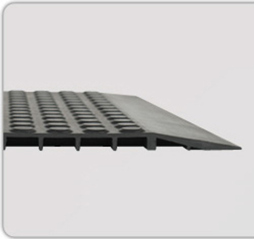 Nitril Smooth ESD-Conductive Ergonomic Matting 2x3 - Rubber