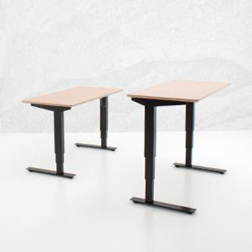 501-37 Electric Height Adjustable 2-Leg Desk