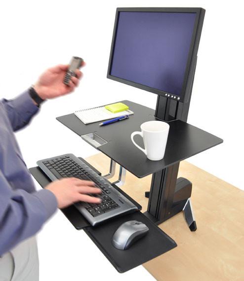 Ergotron Workfit S Lcd Hd W Worksurface Amp Large Keyboard