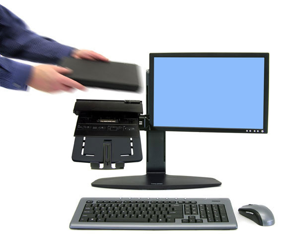 Home Office Mobile Computing Neo-Flex® LCD & Laptop Lift Stand