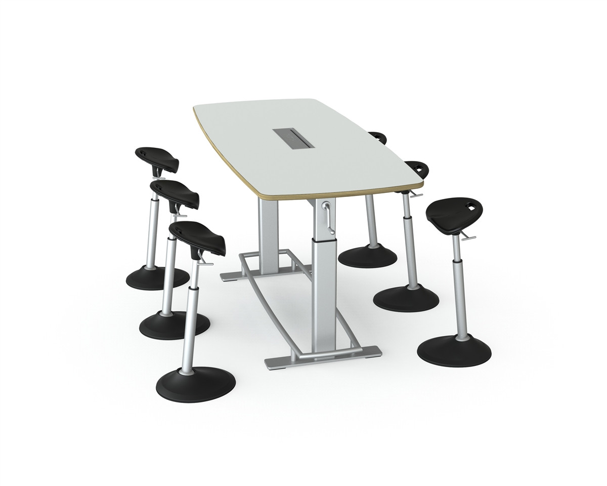 Confluence 8 Standing Height Conference Table Fbt 1000