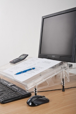 Microdesk Ergonomic Document Holder And Writing Surface