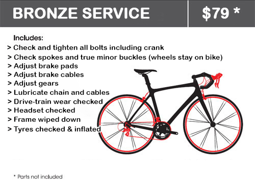 Bronze Bicycle Service