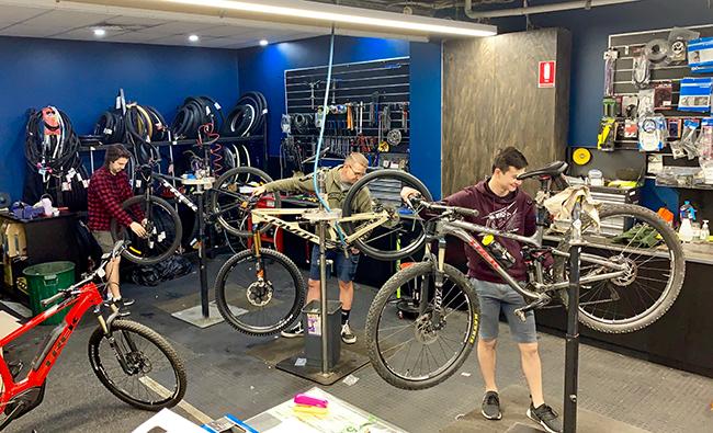 Erina Bikeworx Workshop