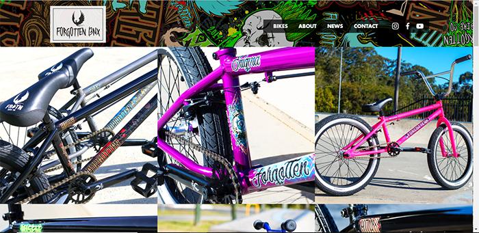 Forgotten BMX Website